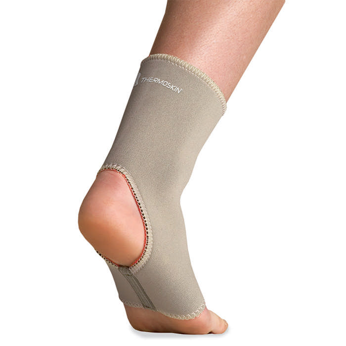 Thermoskin Ankle Sleeve, Beige, Extra Large
