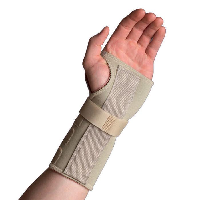 Thermoskin Wrist Hand Brace, Left, Beige, Large/Extra Large