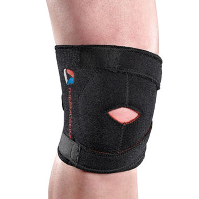 Thermoskin Sport Knee, Black, Large/Extra-Large