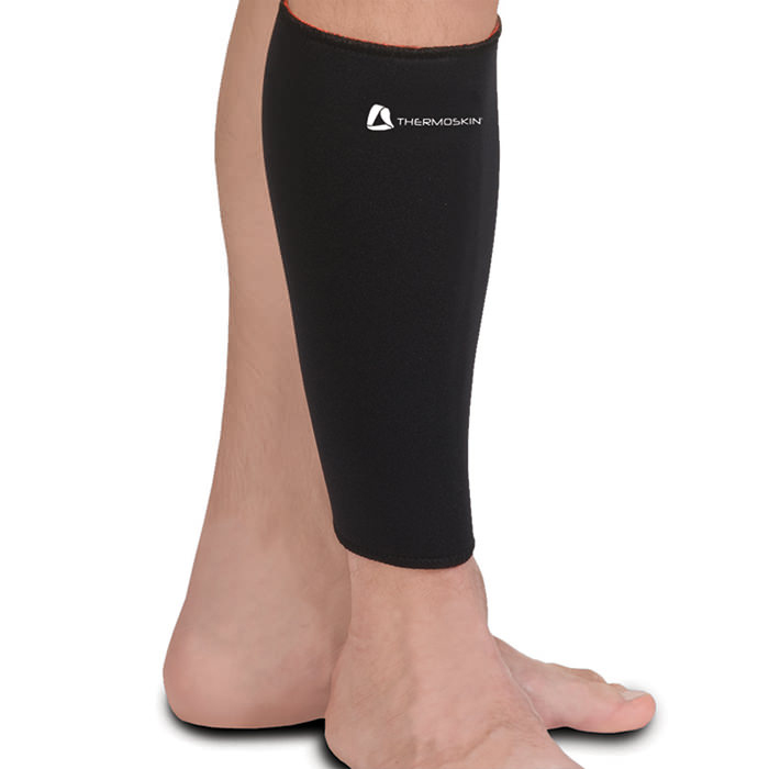 Thermoskin Calf Shin, Black, 2X-Large