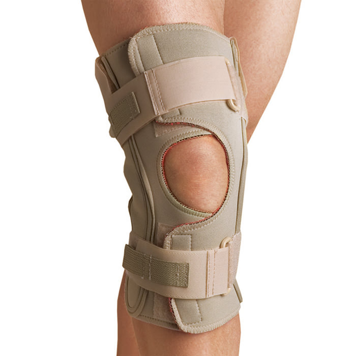 Thermoskin Hinged Knee Wrap ROM, Beige, 2X-Large