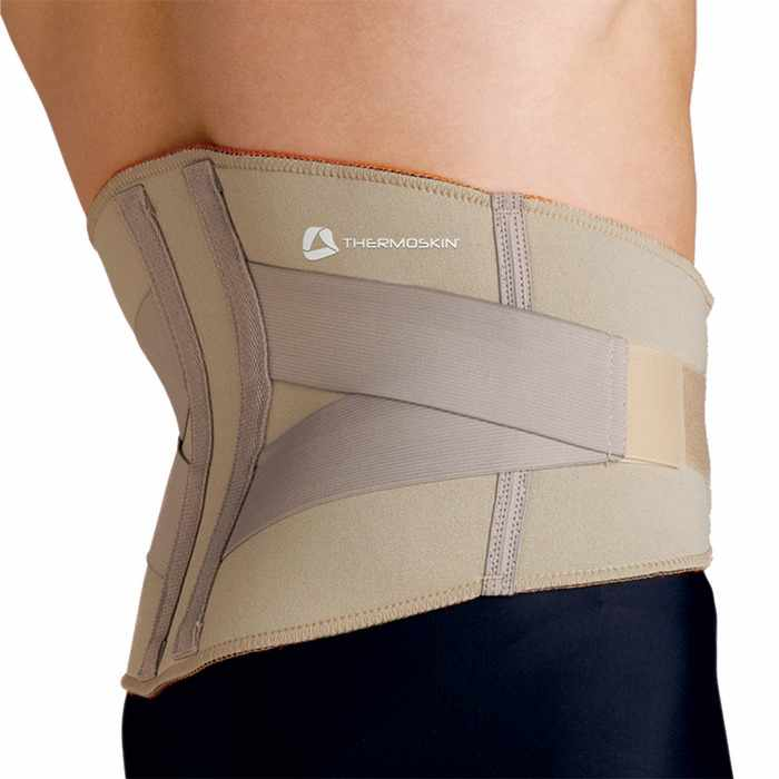 Thermoskin Lumbar Support, Beige, 3X-Large