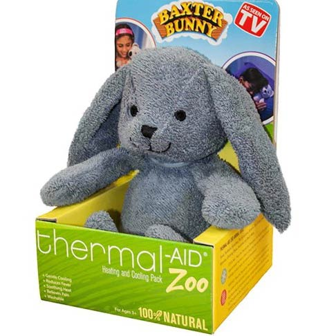 Thermal Aid Zoo Rabbit Heating and Cooling Treatment Pack