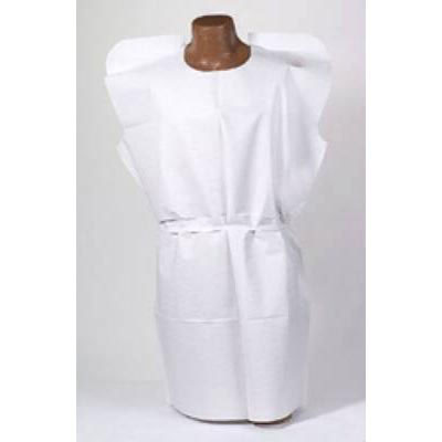 Tidi Disposable Adult NonSterile Patient Exam Gown 30 x 42 Inch