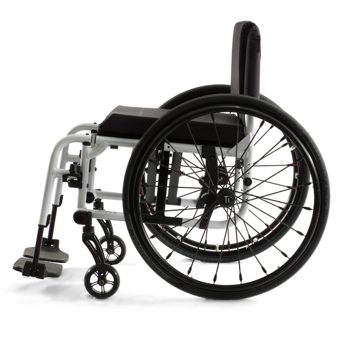Aero X folding ultralight wheelchair