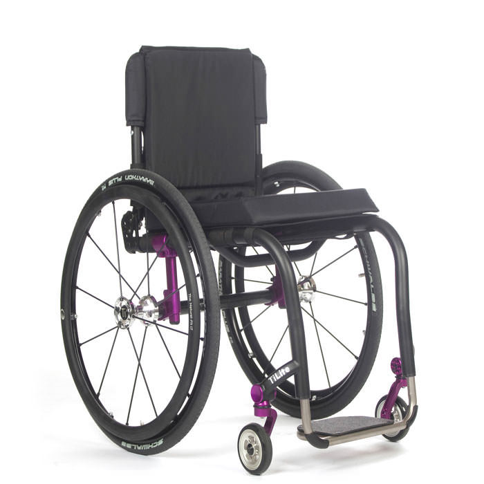 TiLite Aero Z series rigid ultralight wheelchair