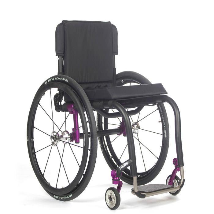 TiLite Aero Z series rigid ultralight wheelchair