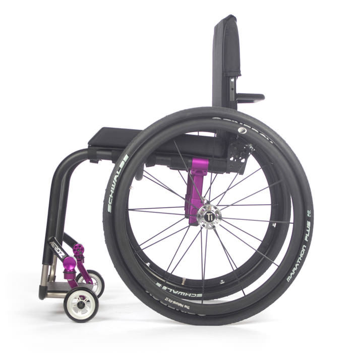 Aero Z wheelchair side view