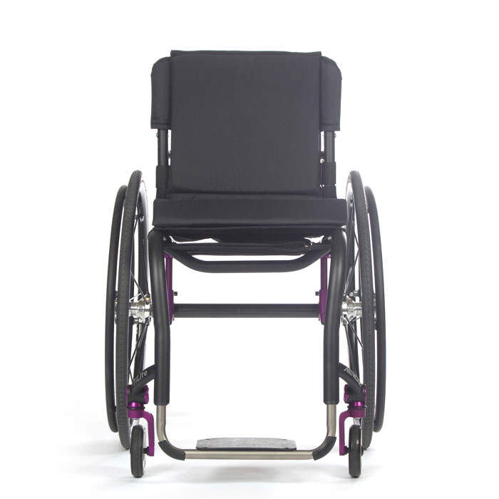 TiLite Aero Z wheelchair front view