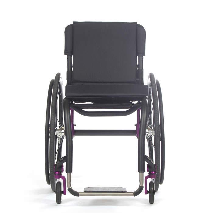 TiLite Aero Z wheelchair front view