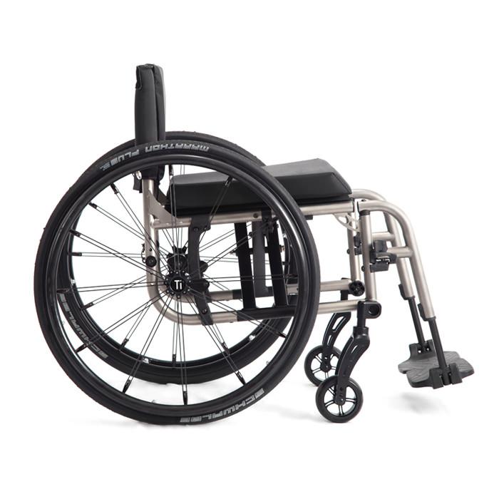 TiLite 2GX series folding wheelchair