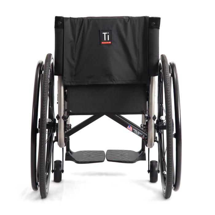 TiLite 2GX wheelchair back view
