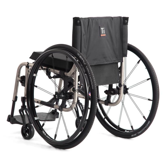 2GX series folding ultralight wheelchair