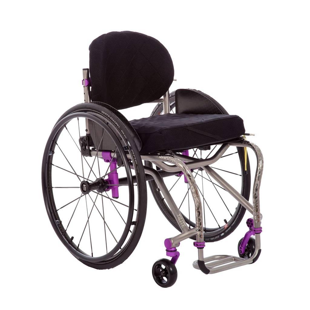 TiLite TRA series rigid ultralight wheelchair