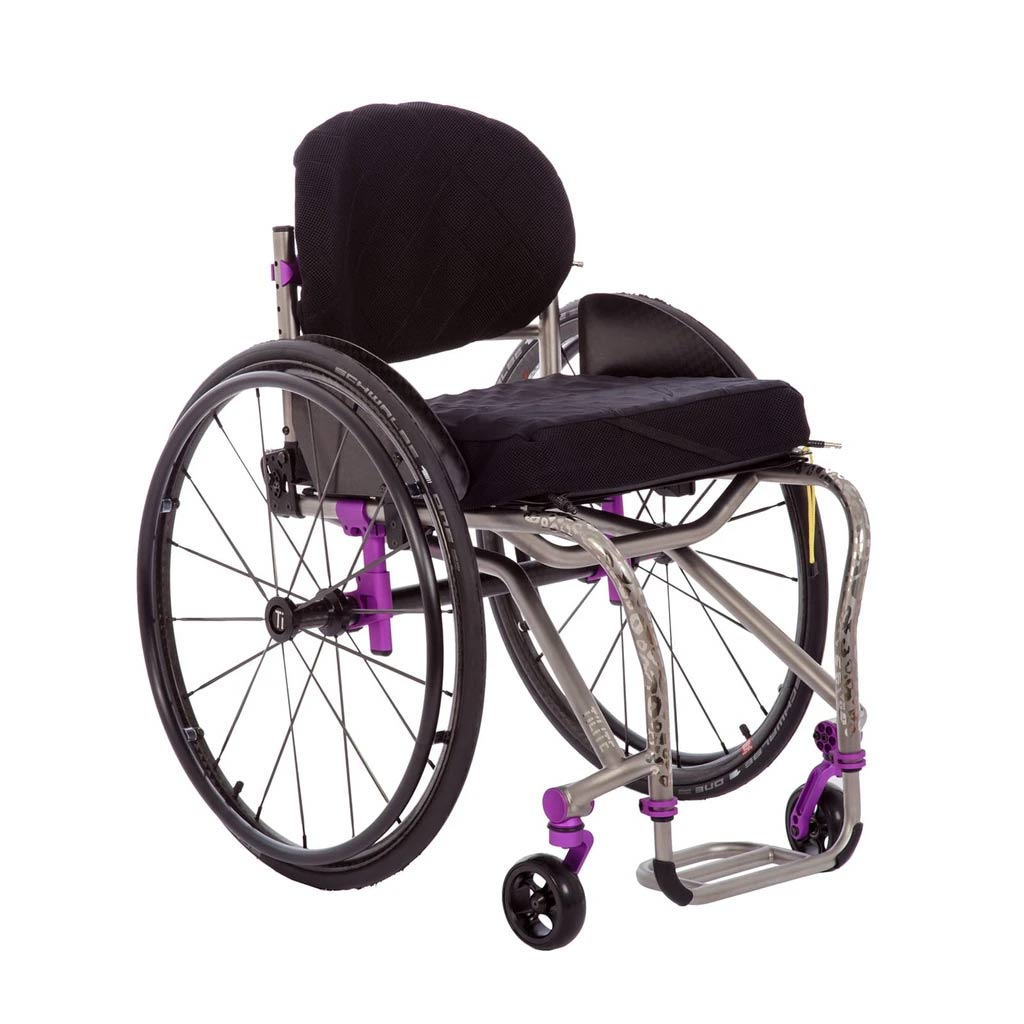 TiLite TRA series rigid ultralight wheelchair