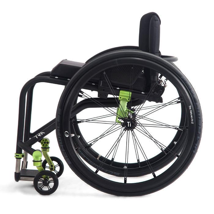 TRA rigid ultralight wheelchair side view