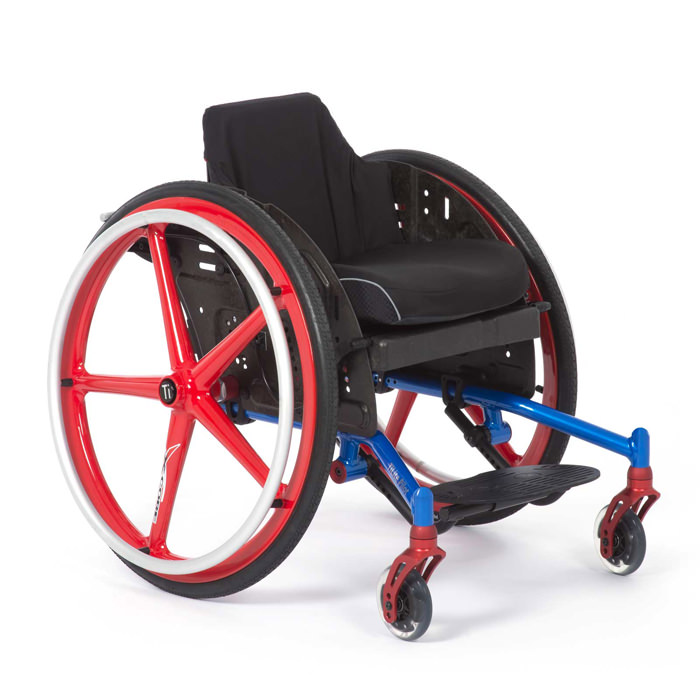 TiLite Pilot pediatric ultralight wheelchair