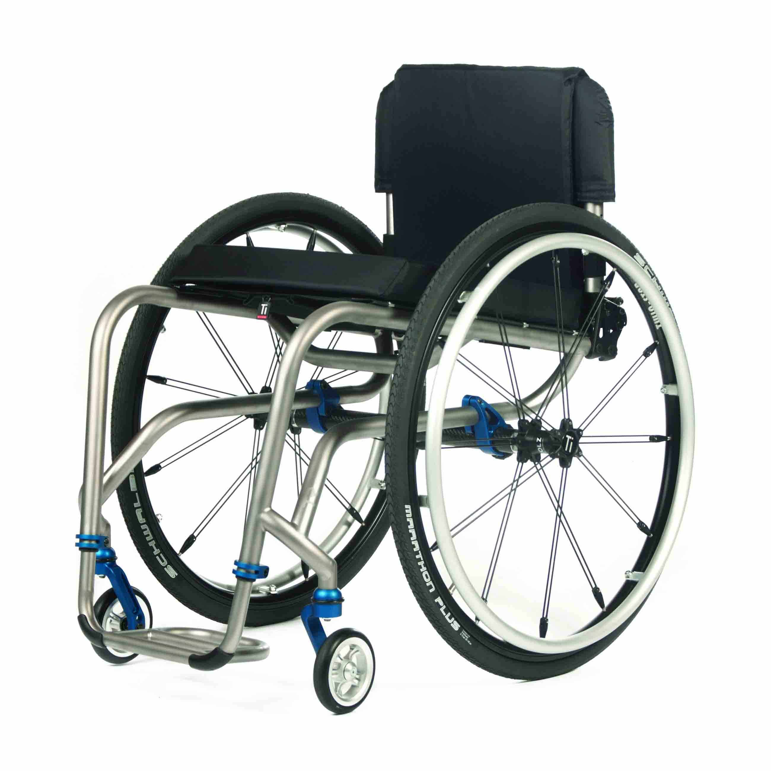 TiLite TR series rigid ultralight wheelchair