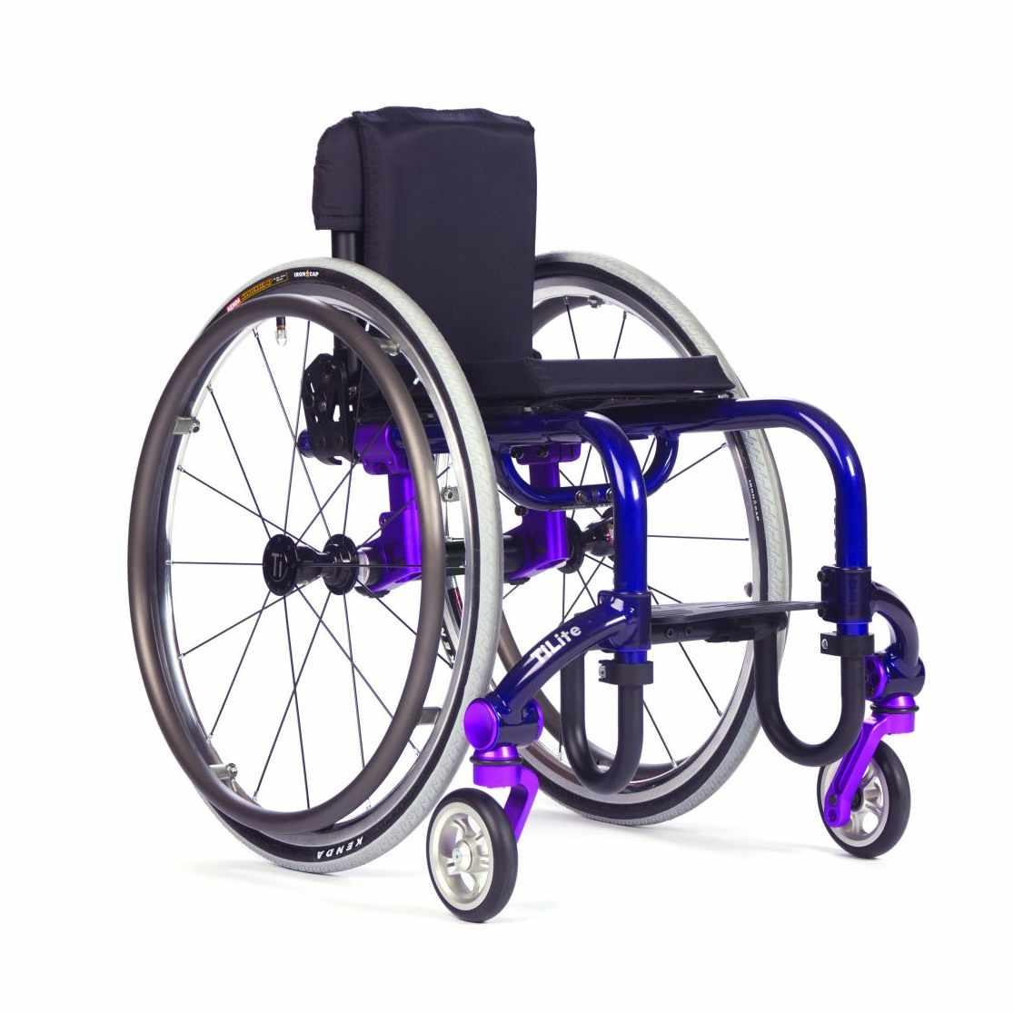 TiLite Twist pediatric ultralight wheelchair