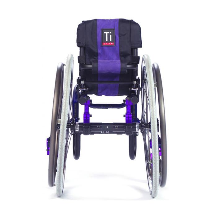 TiLite Twist pediatric wheelchair back view