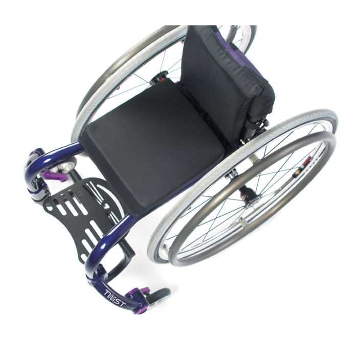 TiLite Twist wheelchair view from top