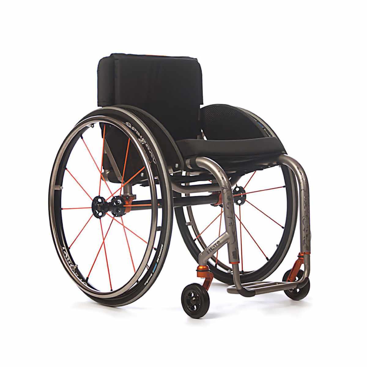 TiLite ZR series rigid ultralight wheelchair