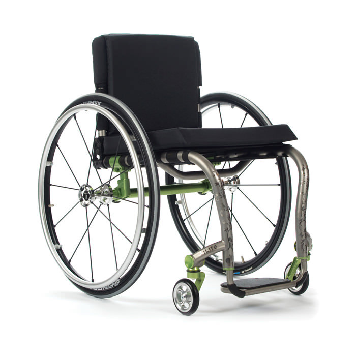 TiLite ZRA series rigid ultralight wheelchair