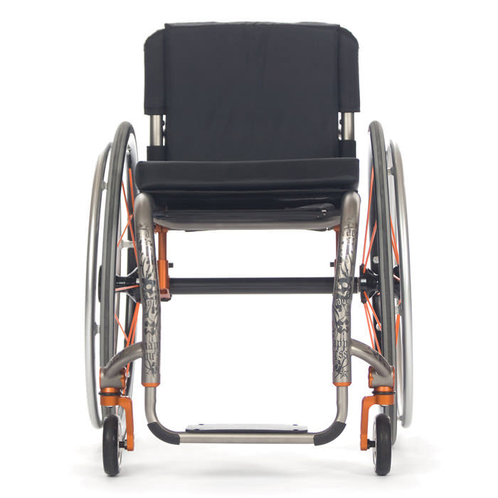 ZRA series rigid ultralight wheelchair front view