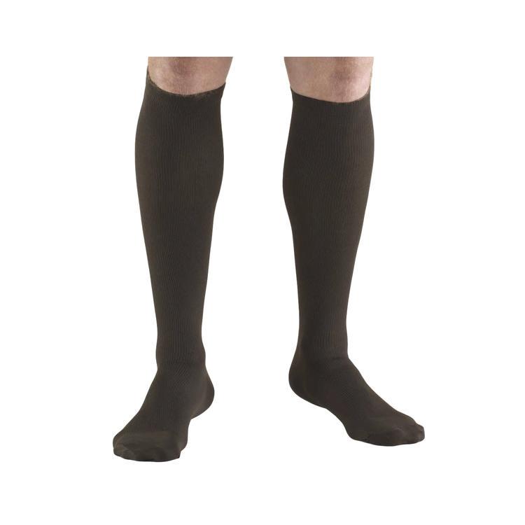 Truform socks mens dress style 30-40, brown, X-Large
