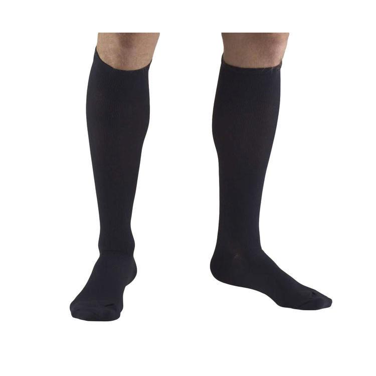 Truform Socks Mens Dress Style 30-40 mmhg, Navy