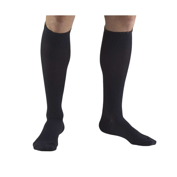 Truform socks mens dress style 30-40, navy, small