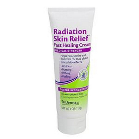 TriDerma Radiation Skin Relief Fast Healing Skin Cream, 4 oz