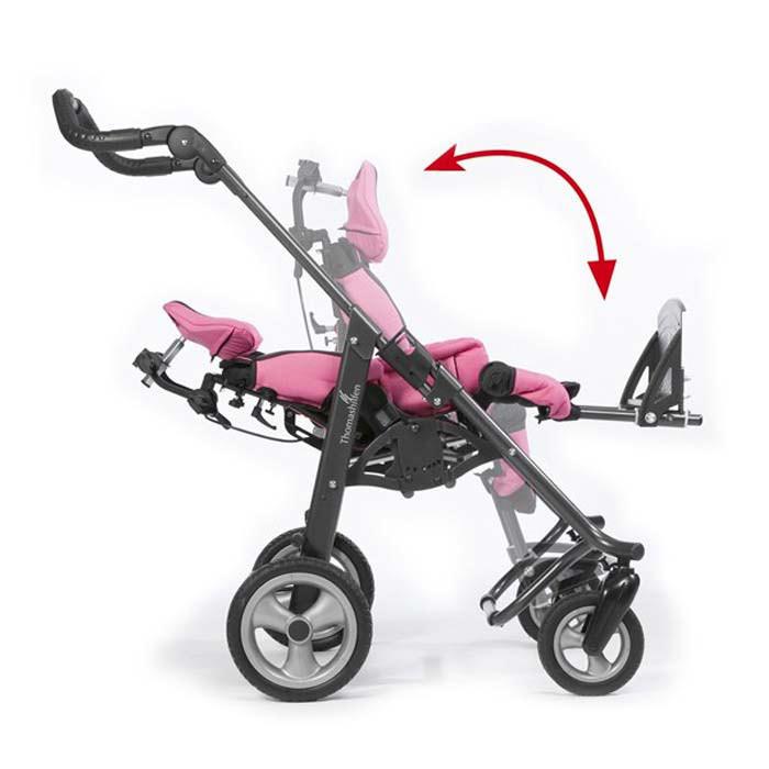 Thomashilfen tRide stroller - 140° recline position