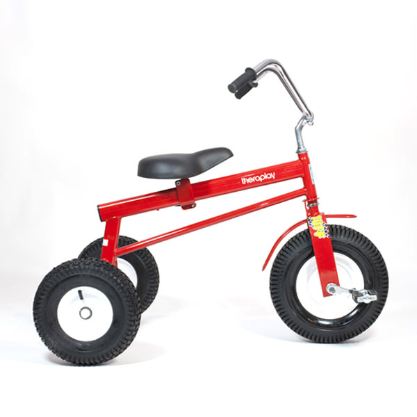Tuff tricycle side view
