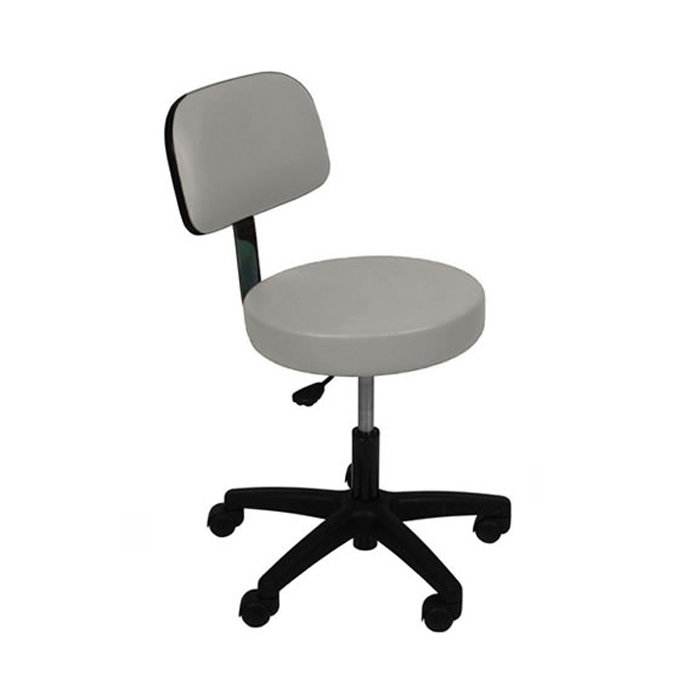 UMF 6746 ultra comfort stool with back rest