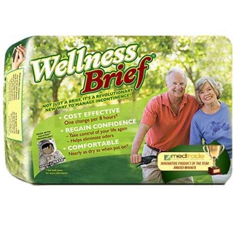 Wellness Brief Original Adult Diaper