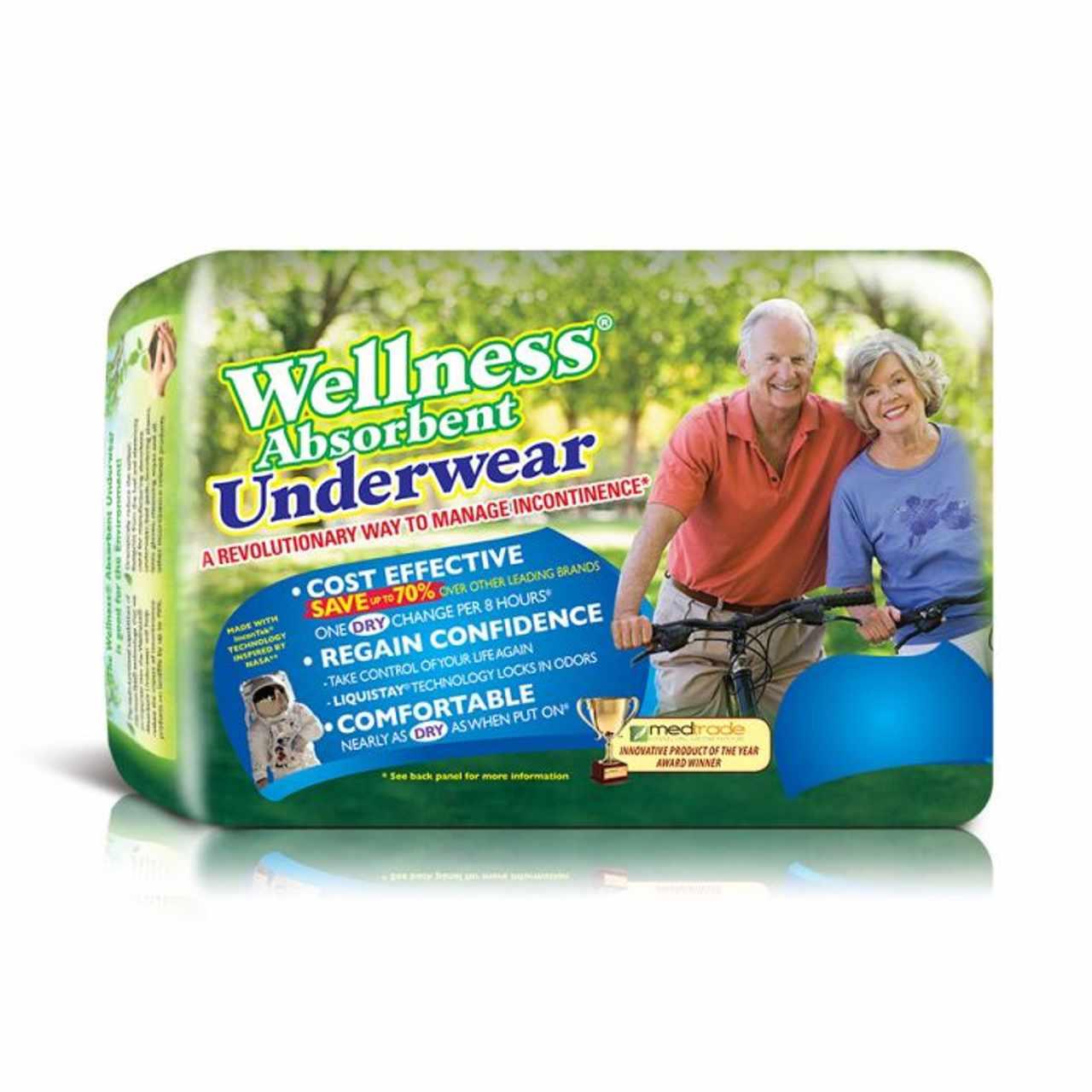 Unique Wellness Absorbent Underwear