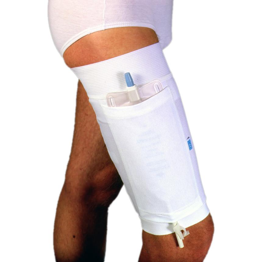 "Urocare Urinary Leg Bag Holder for the Upper Leg Large 24"" Upper Thigh 19-1/4"" Lower Thigh"