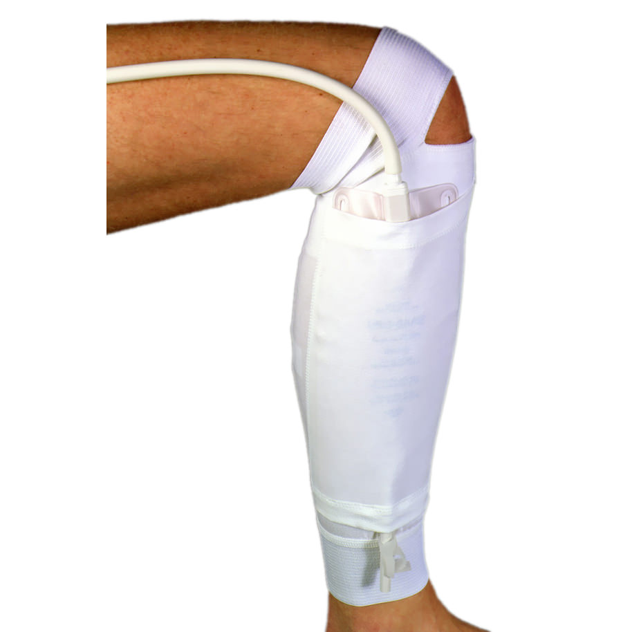 """Urocare Products Urinary Leg Bag Holder for the Lower Leg Large 14-5/8"""" Calf Reusable"""