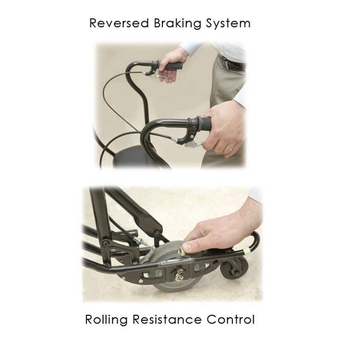 U-Step II walking stabilizer rolling resistance control