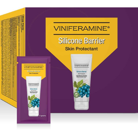 Viniferamine Silicone Barrier Skin Protectant, Scented Cream
