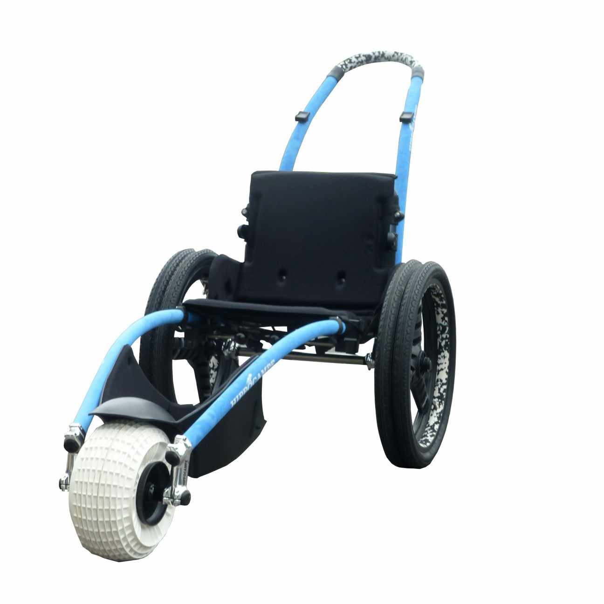 Vipamat Hippocampe all-terrain beach wheelchair