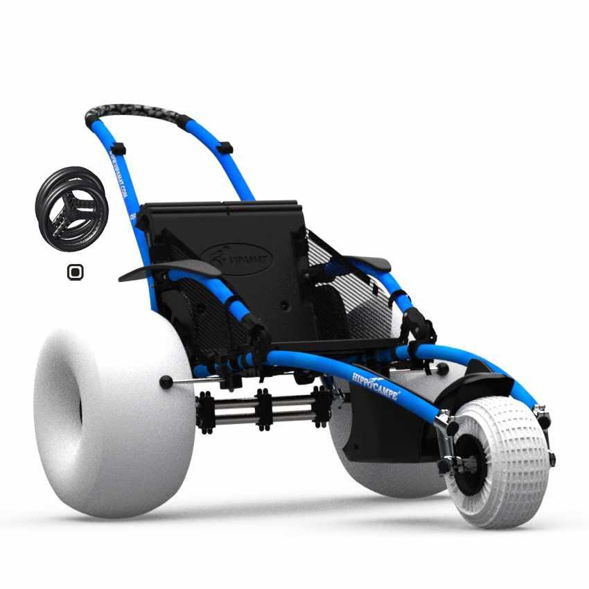Vipamat Hippocampe All-Terrain Beach Wheelchair   Vipamat (Hippocampe)