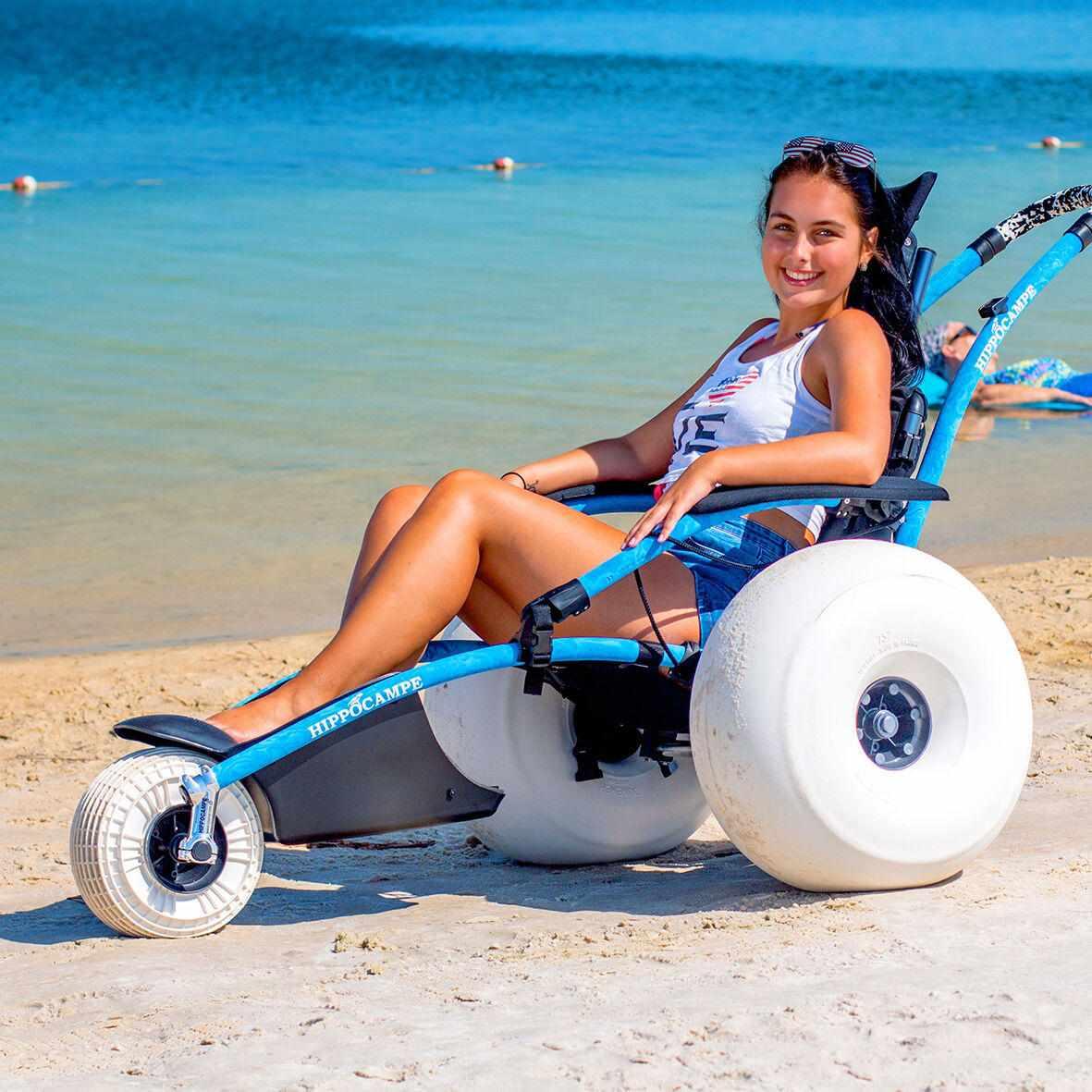 Vipamat Hippocampe All-Terrain Beach Wheelchair | All Terrain Wheelchair