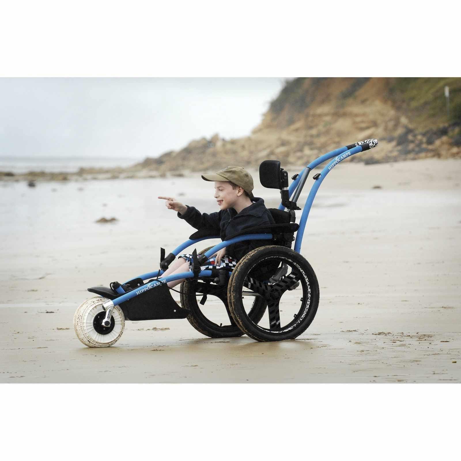 Vipamat Hippocampe All-Terrain Beach Wheelchair   Vipamat All Terrain Wheelchair