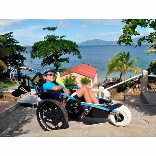Vipamat Hippocampe All-Terrain Beach Wheelchair   Hippocampe (Vipamat)