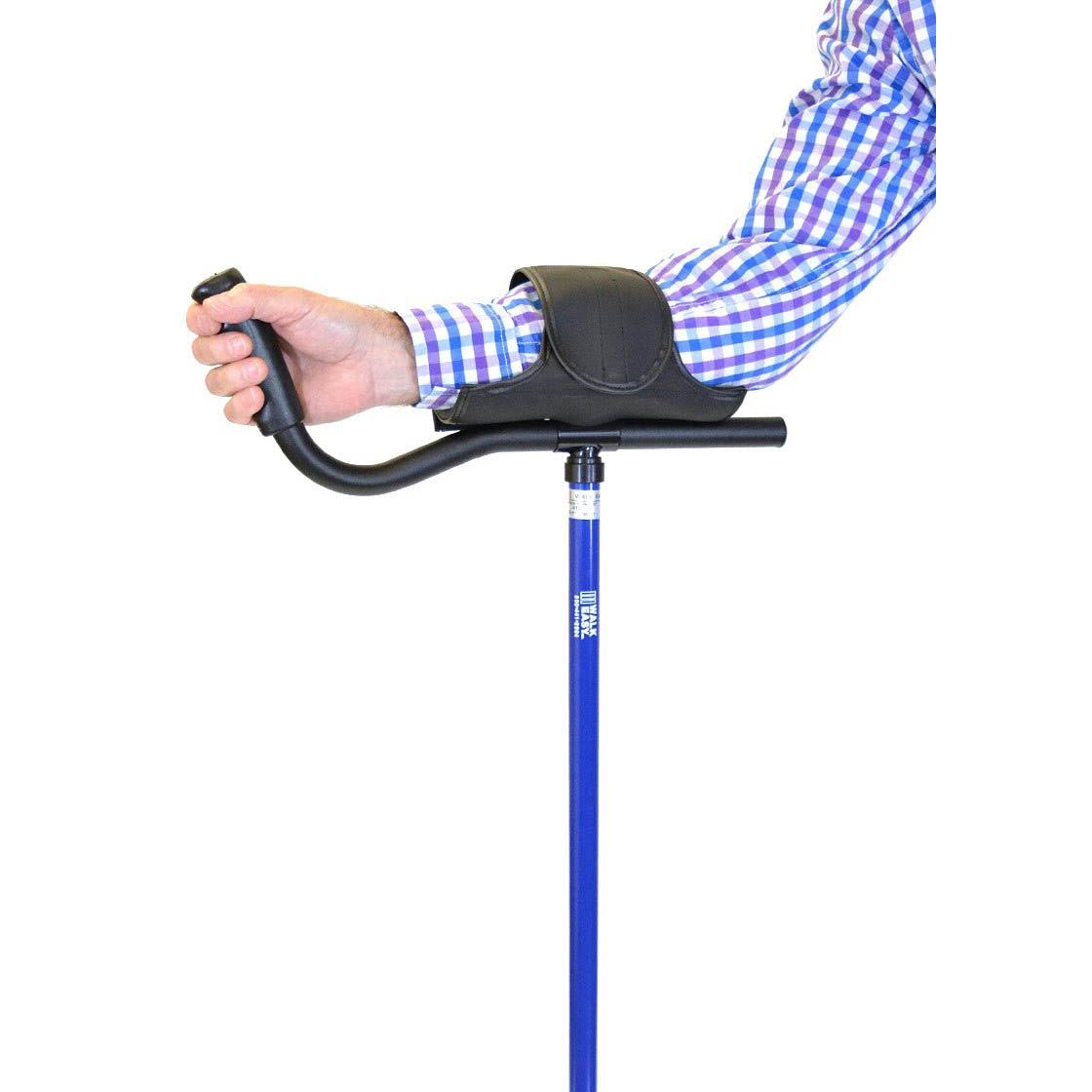 WalkEasy Adult Platform Crutch With Velcro Sleeve   Walk Easy 410