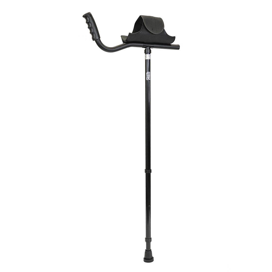 Walk Easy Adult Platform Crutch With Velcro Sleeve