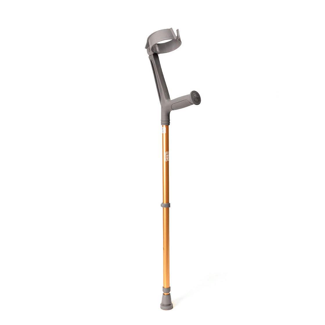 Walk Easy Adult Forearm Articulated Crutch With 4 Inch Full Cuff