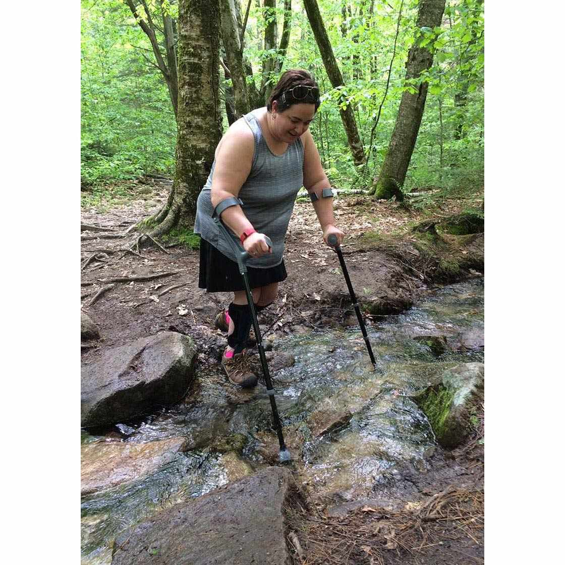 Walk Easy Adult Forearm Articulated Crutch | WalkEasy 471